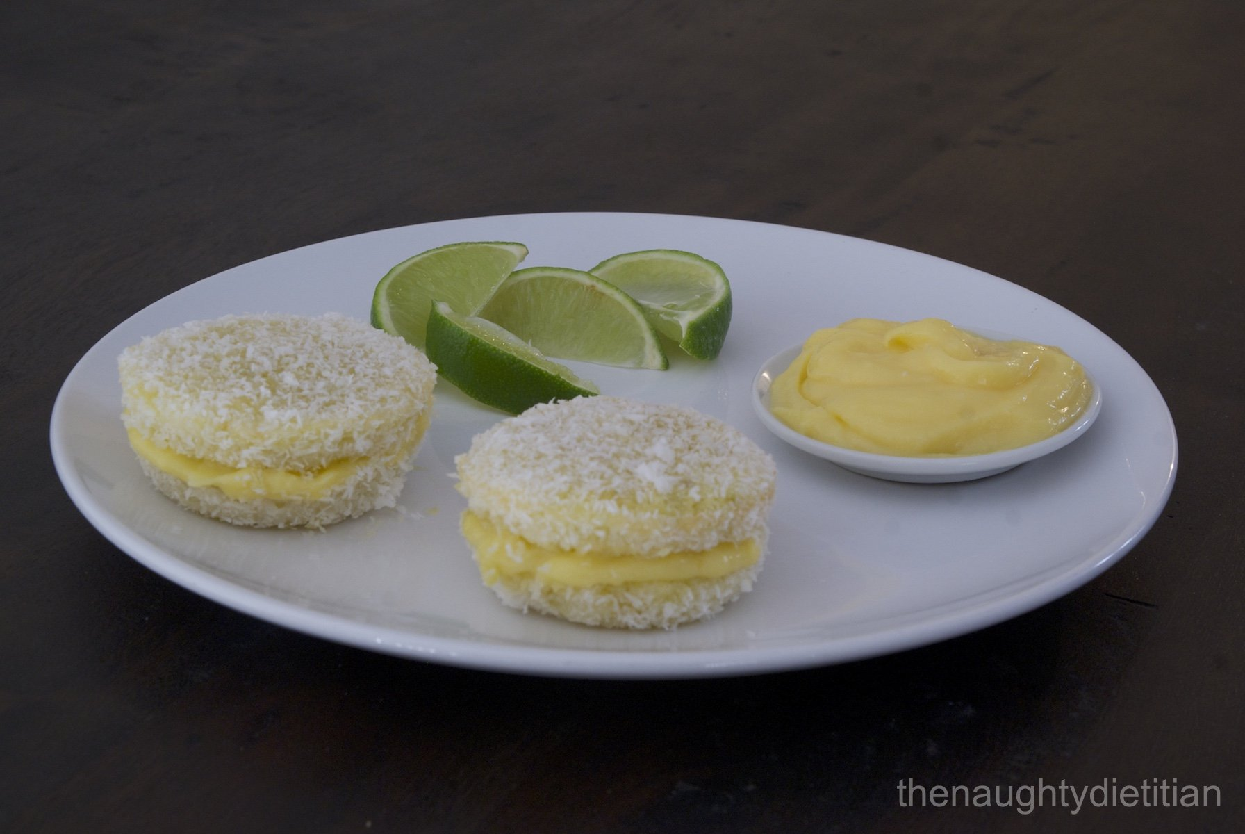 Lime Lamingtons Gluten Free