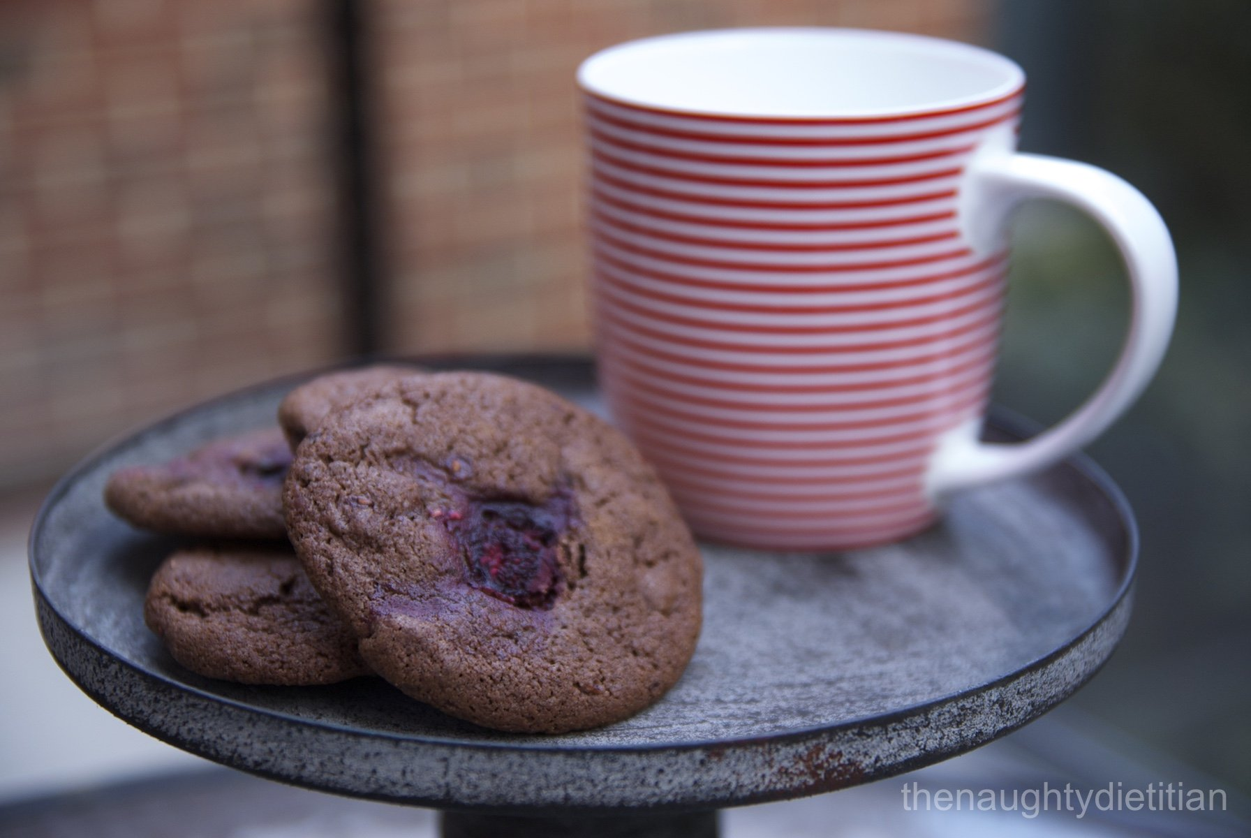 Chocolate Chunk Raspberry Biscuits Gluten Free