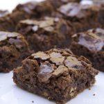 Walnut White Chocolate Brownies Gluten Free