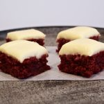 Red Velvet Brownie Bites Gluten Free
