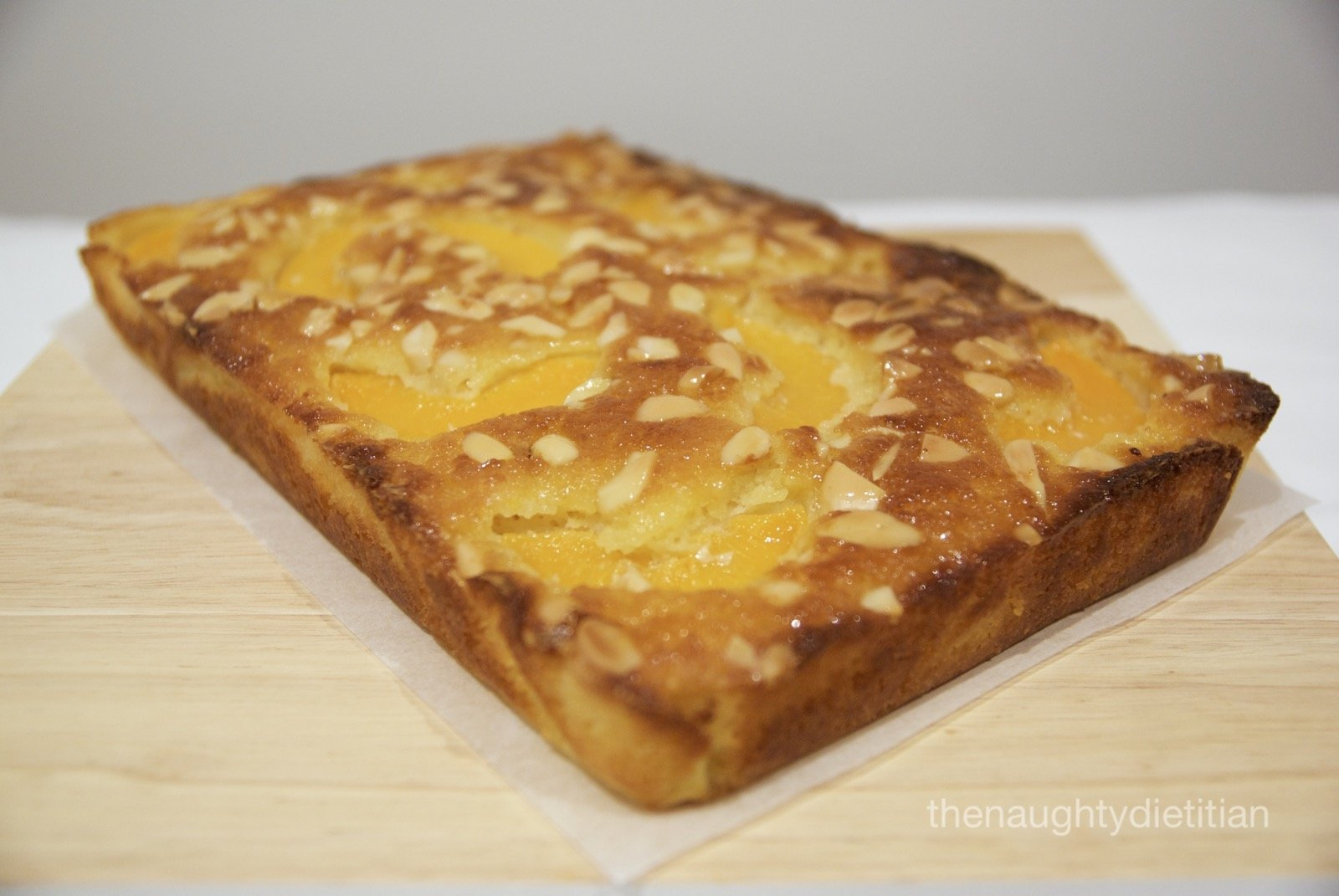 Peach and Almond Tea Cake Gluten Free