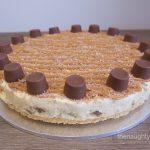 Rolo No Bake Cheesecake Gluten Free