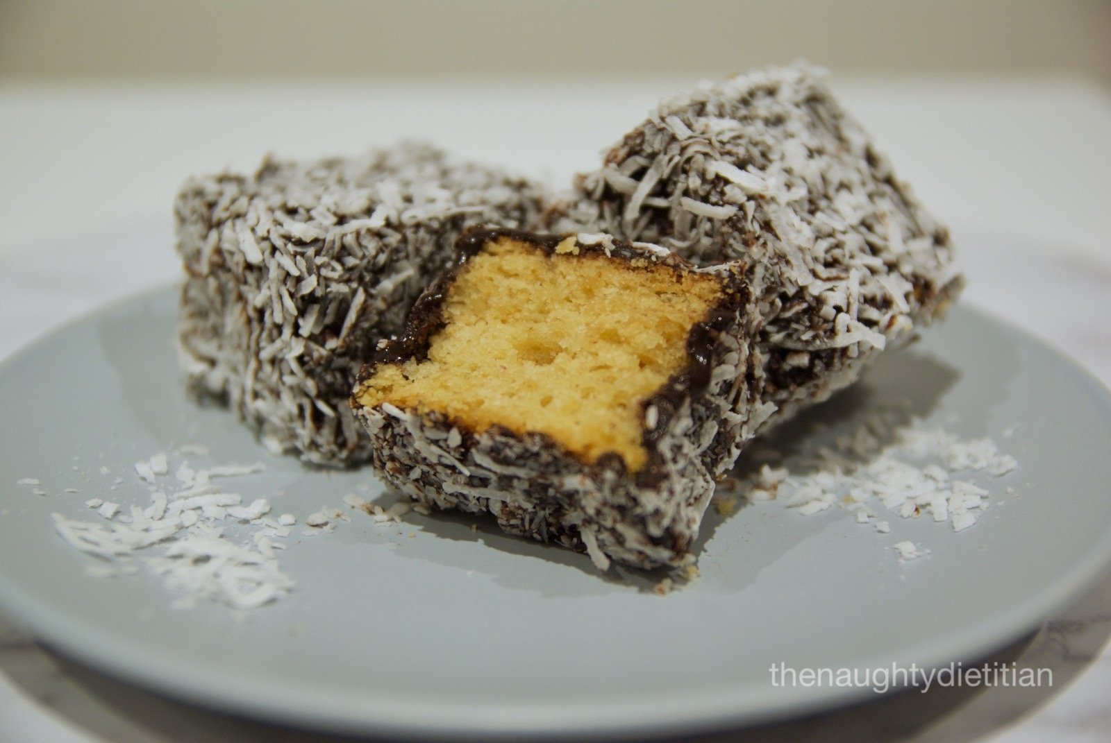 Gluten Free Chocolate Lamingtons